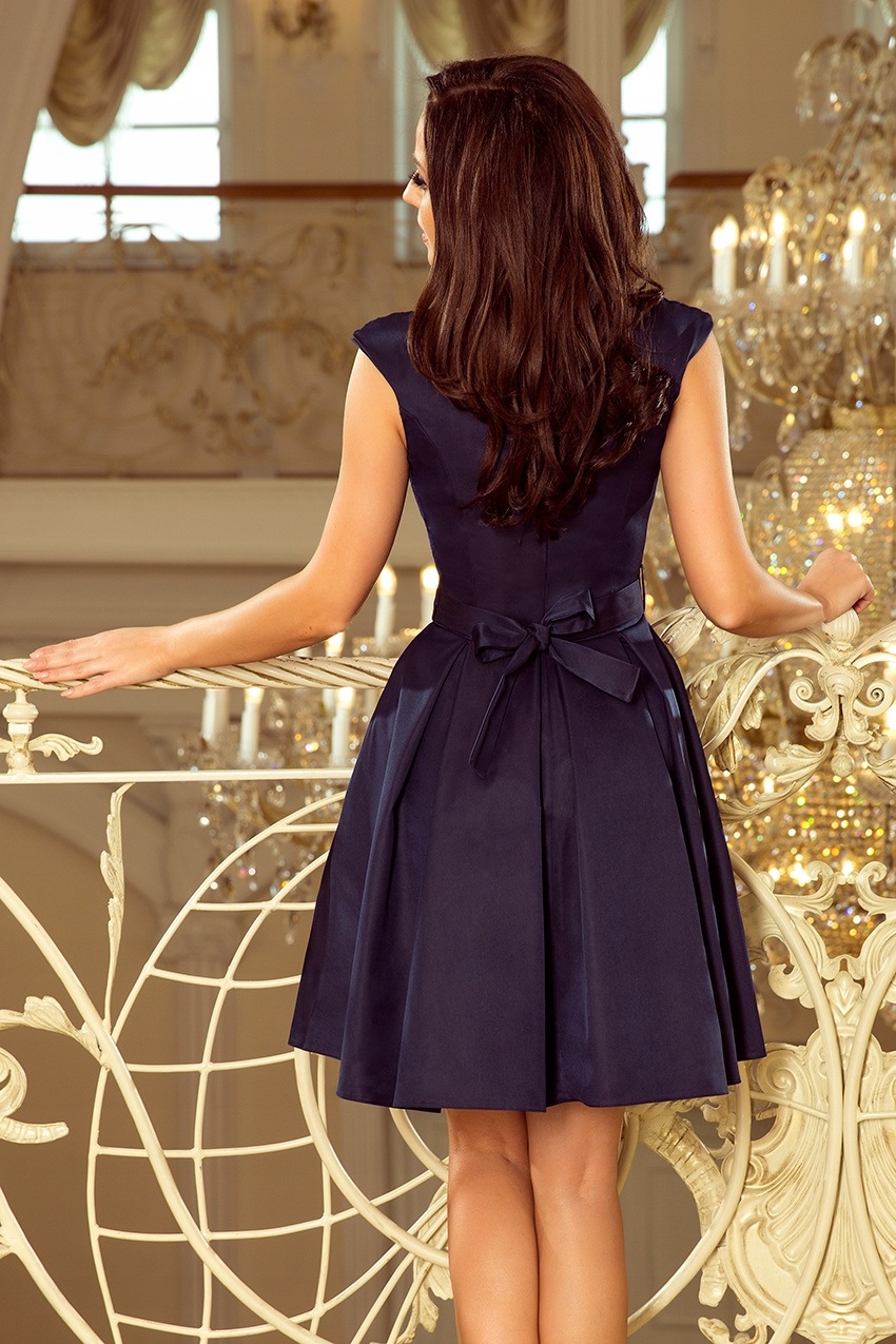 MODNE Sukienki NA WESELE DUŻE ROZMIARY 244-2 XXL