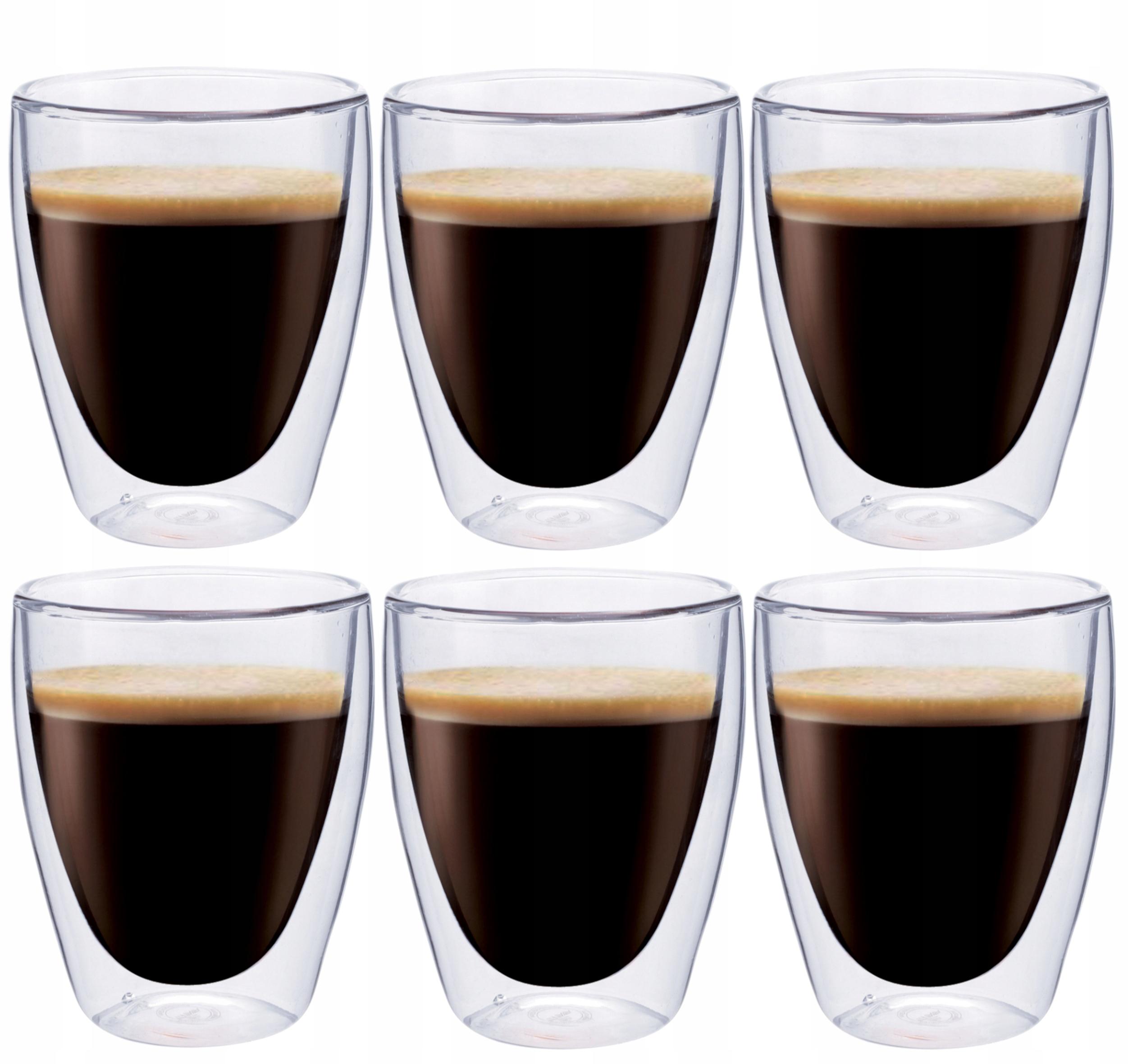 Termálne šálky Káva Čajka 6ks