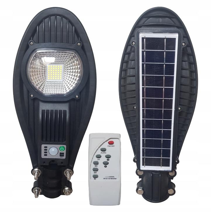 Lampa uliczna LED latarnia solarna 50W + PILOT !