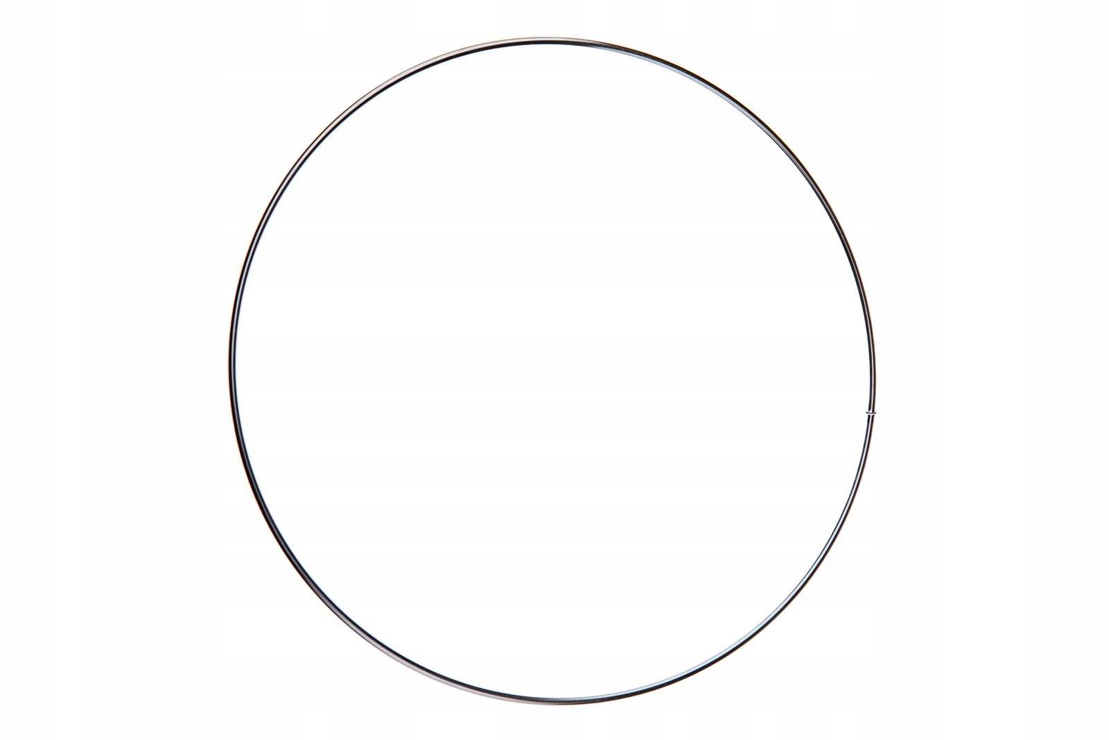 Obręcz, Okrąg do łapacza snów, kółko 20cm srebrna