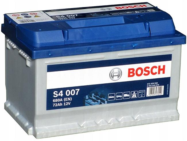 аккумулятор bosch silver s4 72 ах 680a свежие