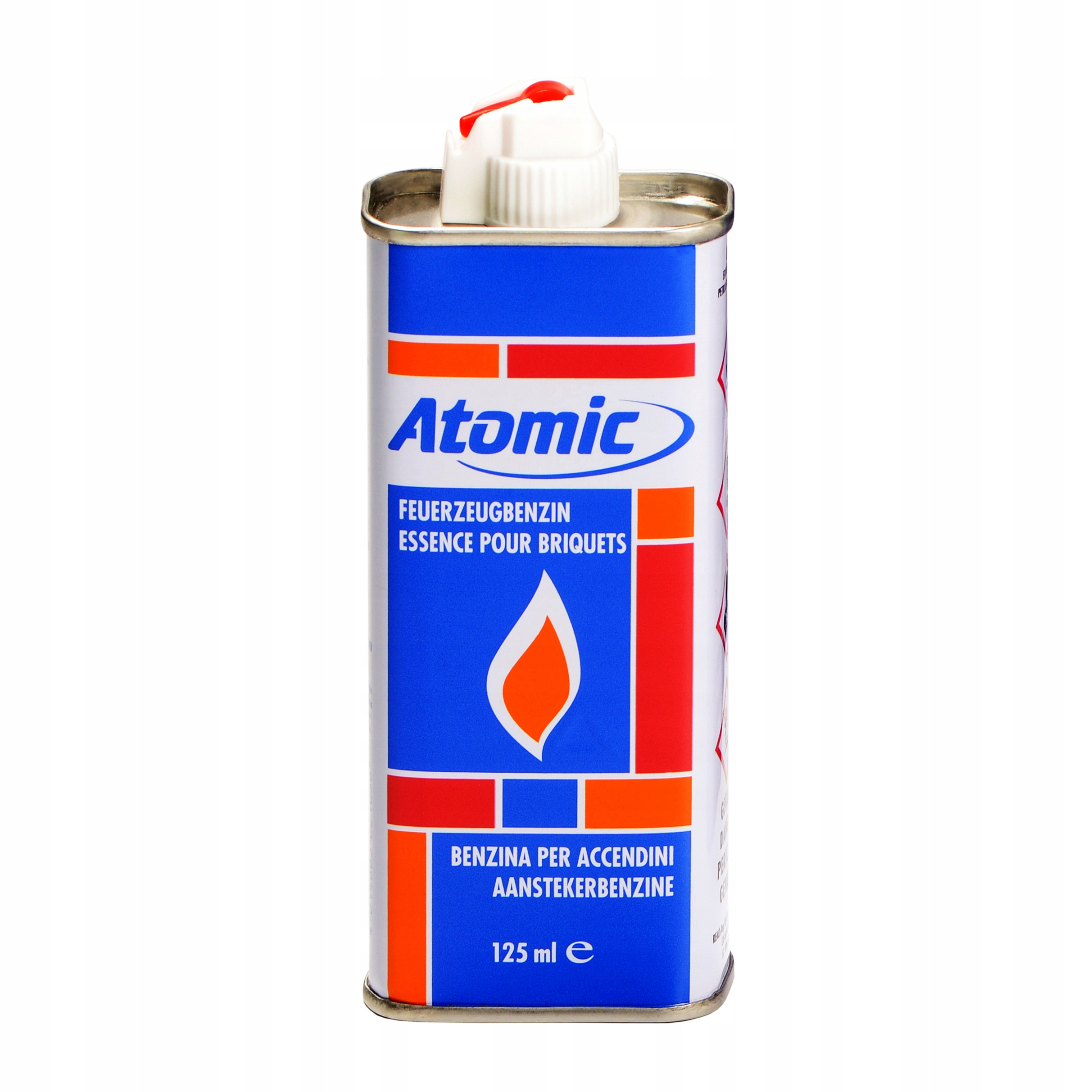 Зажигалка бензиновая + бензин 125ml ATOMIC