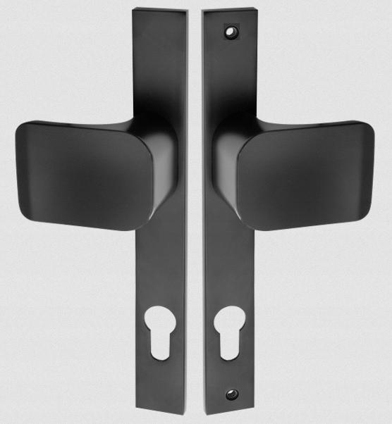 Rukoväť/gombík vpravo Retro-Kut k bráne gate 90 mm