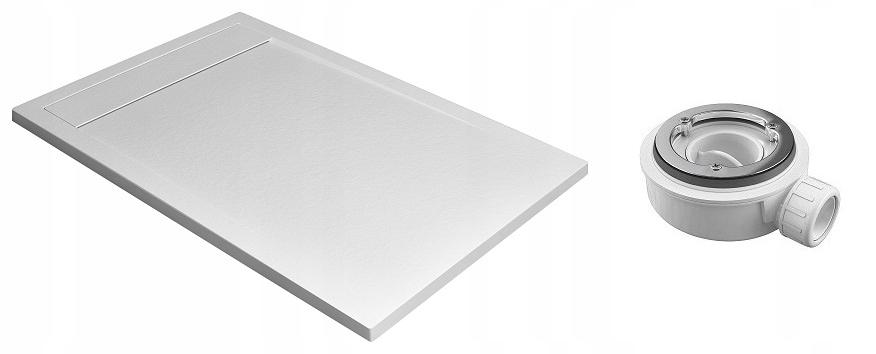 $ Dieťa TEOS F 100x80 biela vybaviť sifón RADAWAY