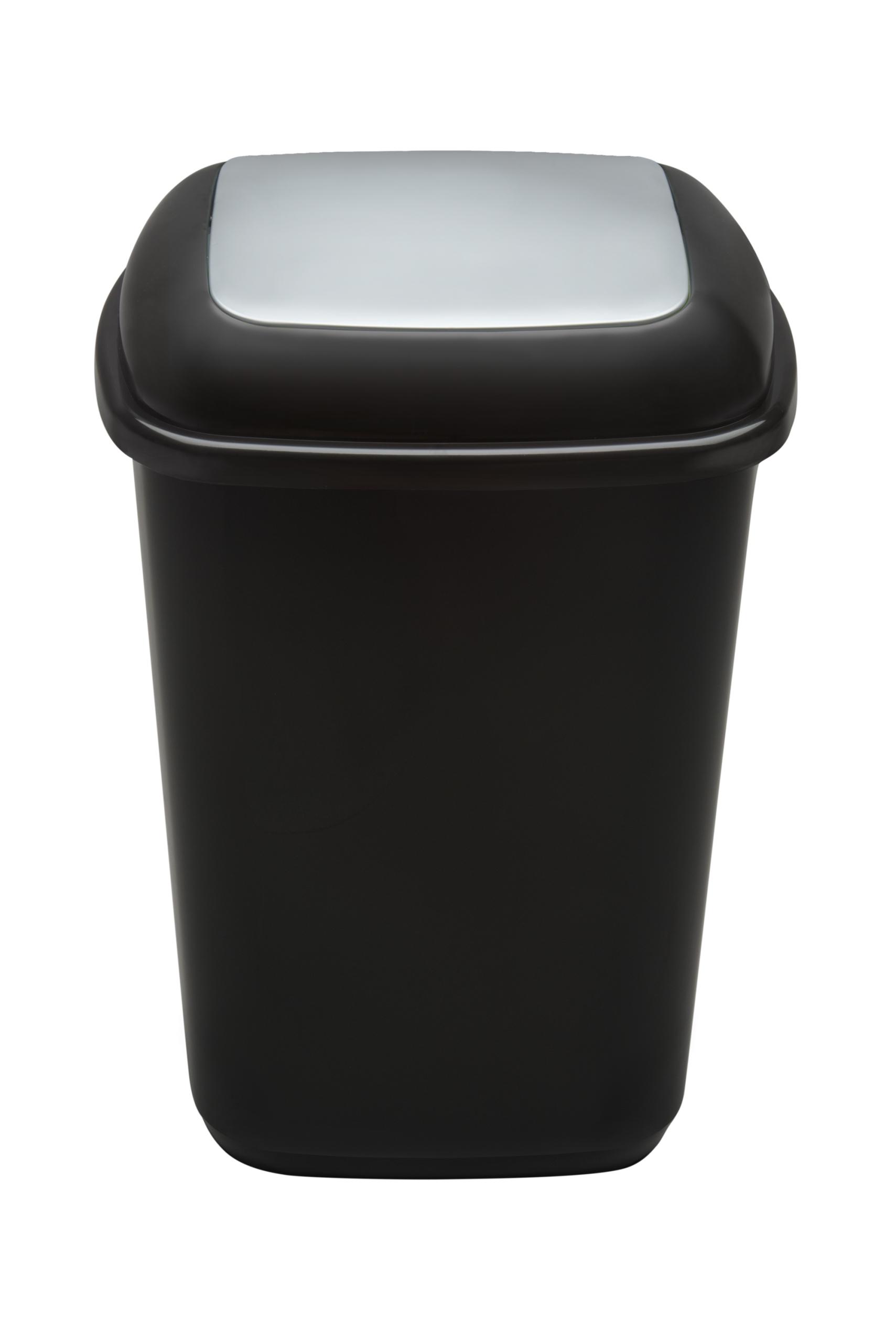 KOSZ PLAFOR QUATRO 28L na odpady zmieszane ECO