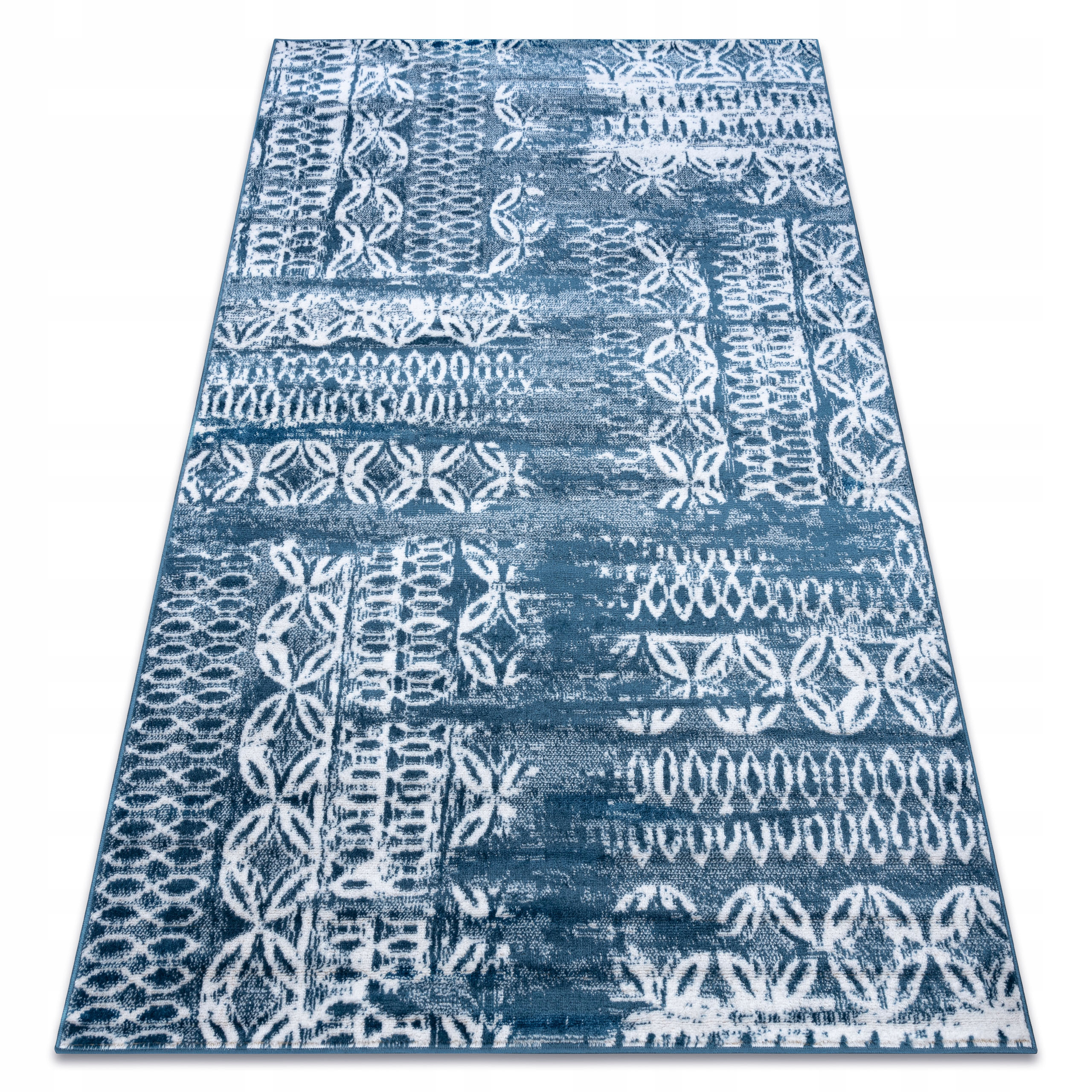KOBEREC 120x170 RETRO VINTAGE blue #GR3364