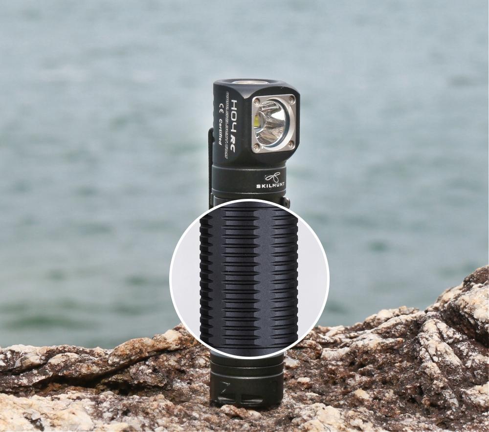 LATARKA CZOŁOWA LED SKILHUNT H04 RC XM-L2 U4 1200L Zasięg światła 123 m