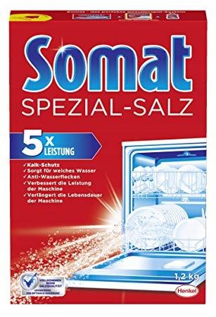 Соль для посудомоечной машины Somat Spezial Salz 1,2 кг