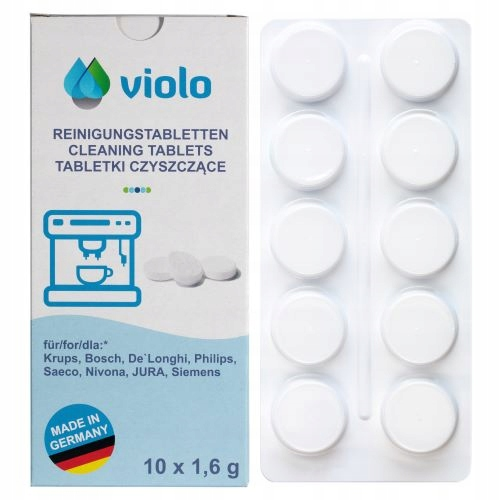 BOSCH SAECO KRUPS 10x CLEANING TABLETS