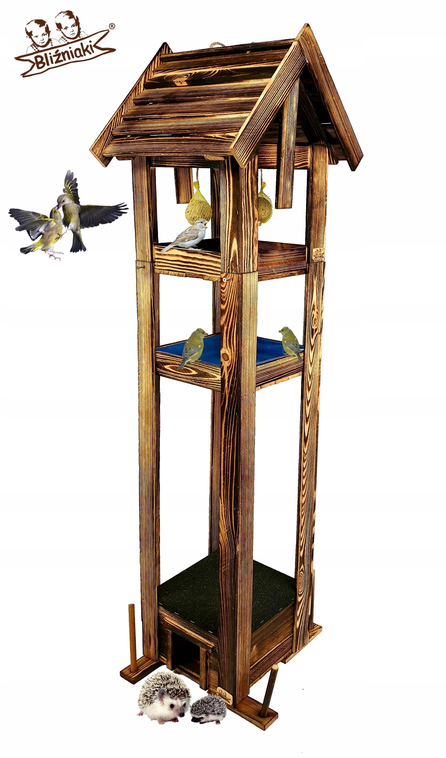 Vták feeder Napájačiek + Dom na ježko Auta