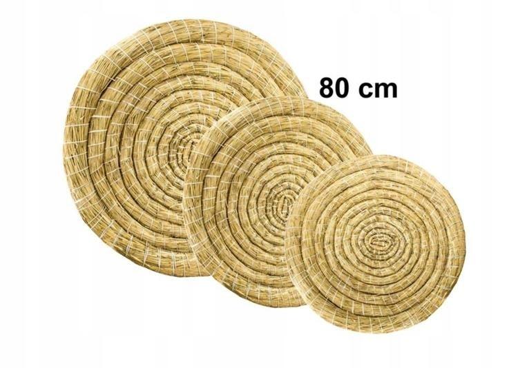 Mat łucznicza słomiana štít 80 cm Typ Slimák