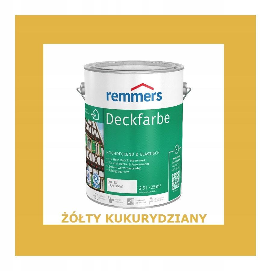 REMMERS DECKFARBE 10 l ŽLTÁ KUKURICA