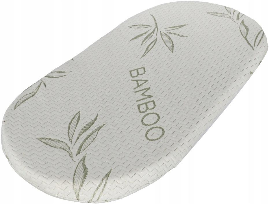 Materac Wkladka Materacyk Wozka Bambusowy Bamboo 8118041449 Allegro Pl