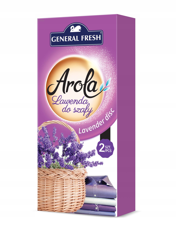 General Fresh Arola - Лаванда для шкафа - 2 штуки!