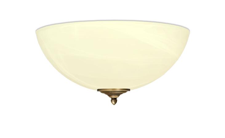 Klasické stropné svietidlo 40 cm, MOSADZ, štýlový SeriaP
