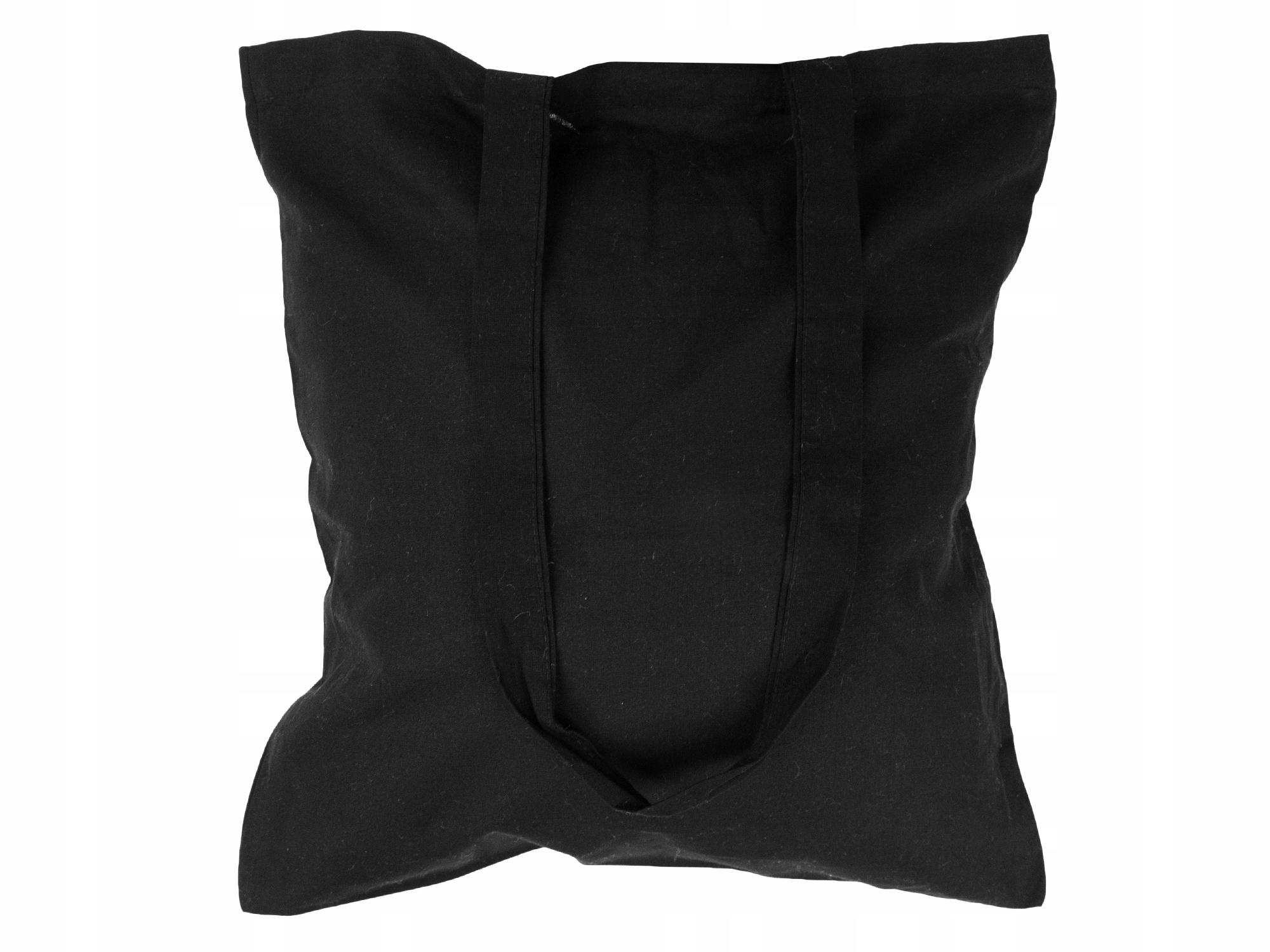 Item COTTON BAG long handle 38x42 BLACK