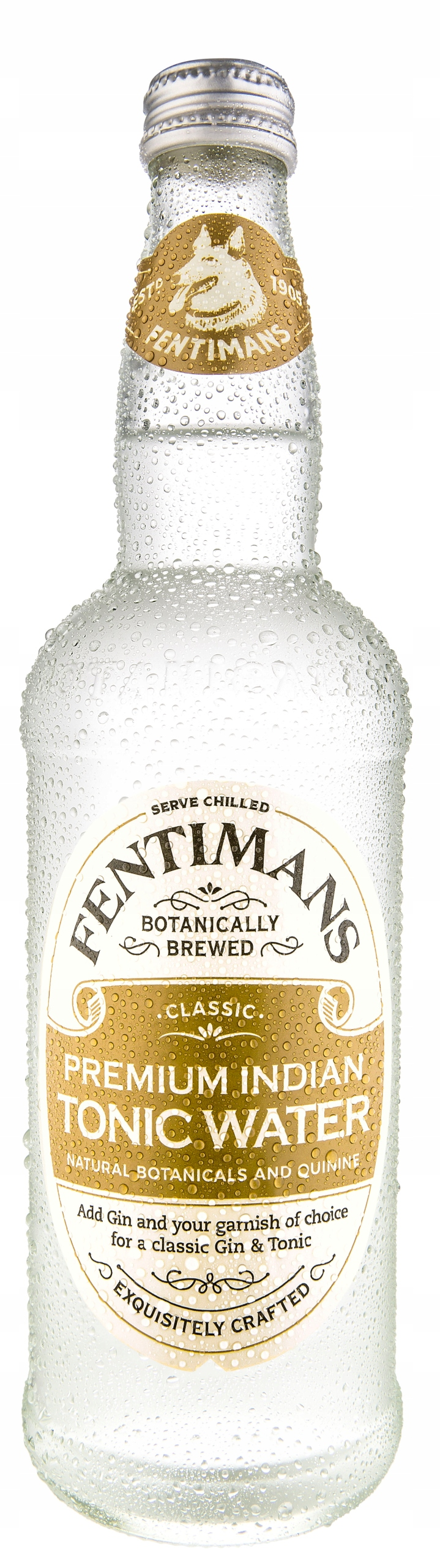 Fentimans Premium Indian Tonic Voda 500 ml x8