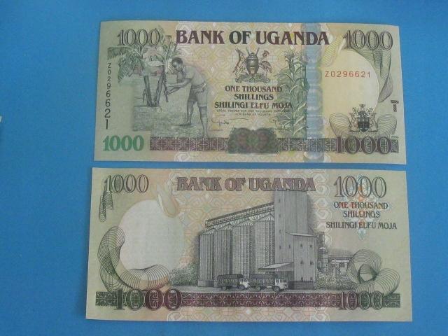 Uganda 1000 Shilings 2009 UNC P-43d Replacement