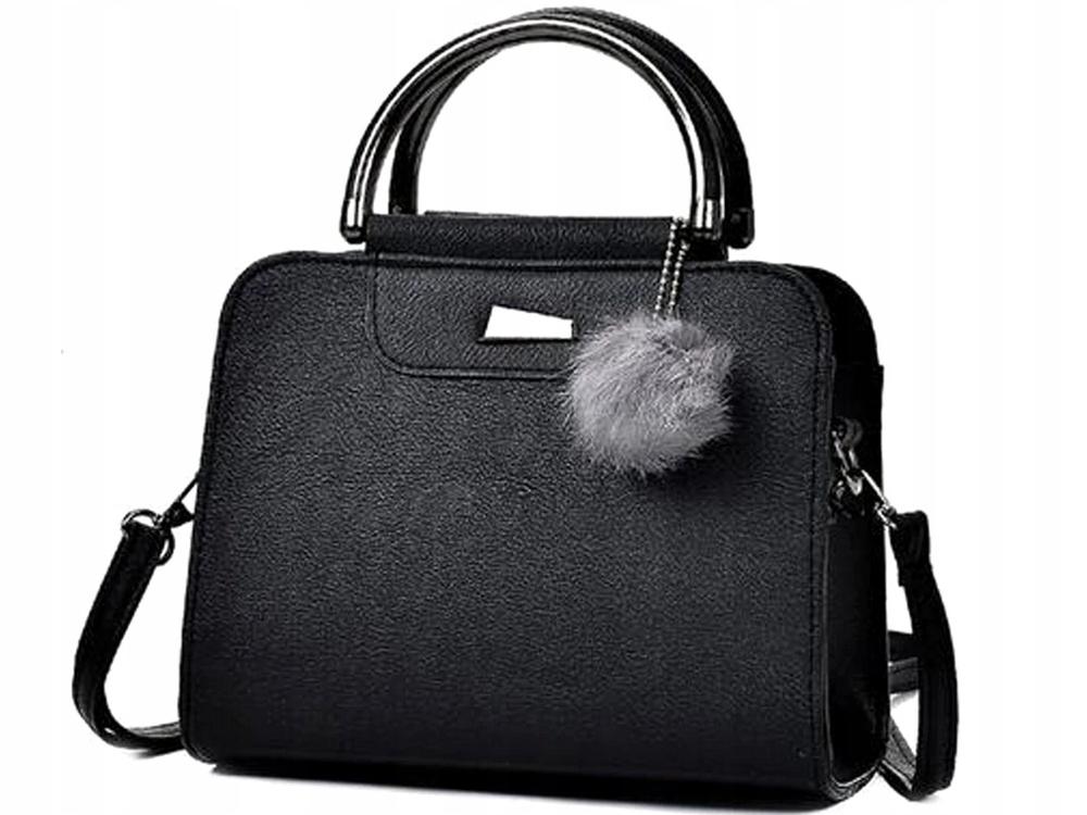 L90 Элегантная сумка через плечо Женская черная сумка через плечо