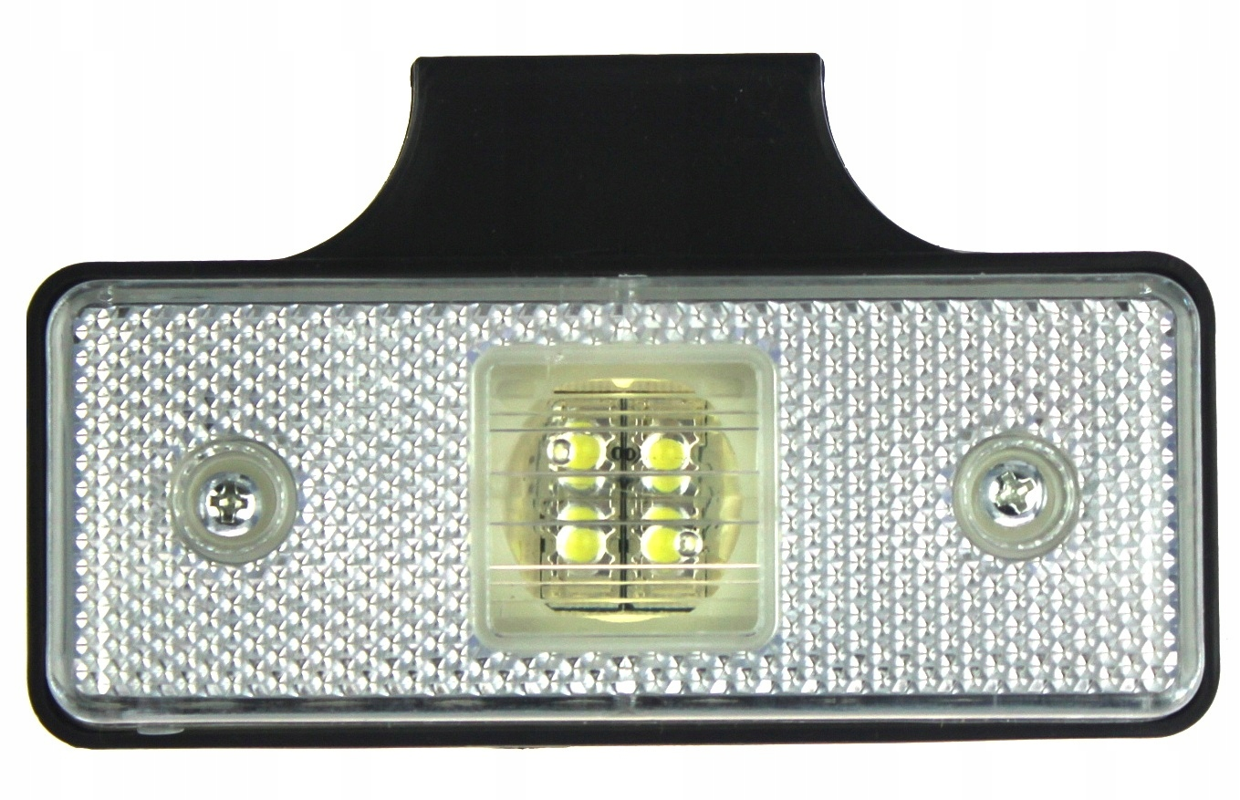 obrysÓwka 4 led лампа габаритный белая держатель 1224v