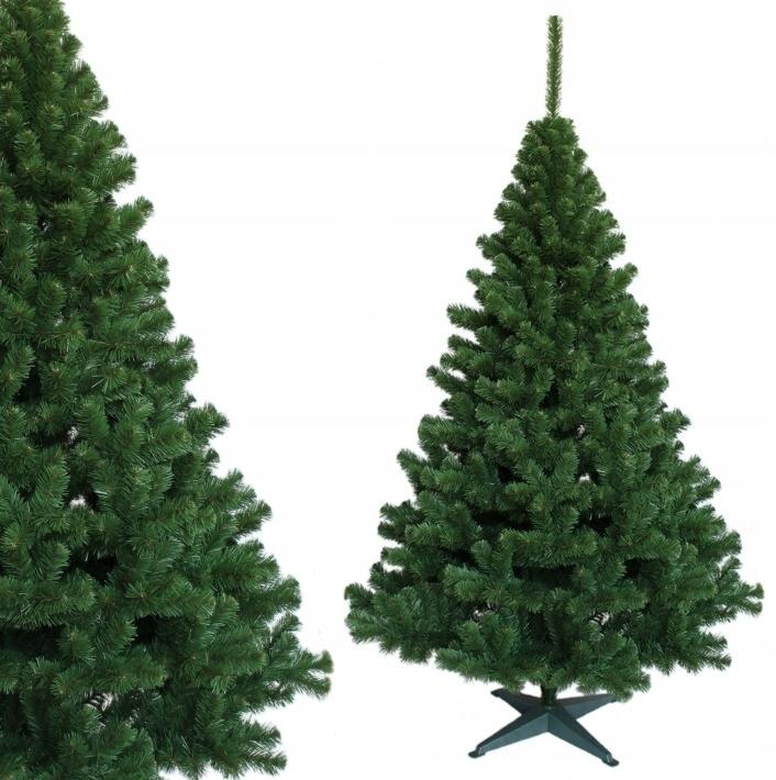 Umelý vianočný stromček GREEN FIR 120 cm hrubý stojan