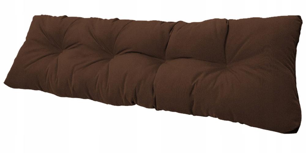 Подушка для садовой качели 120x38 коричневая