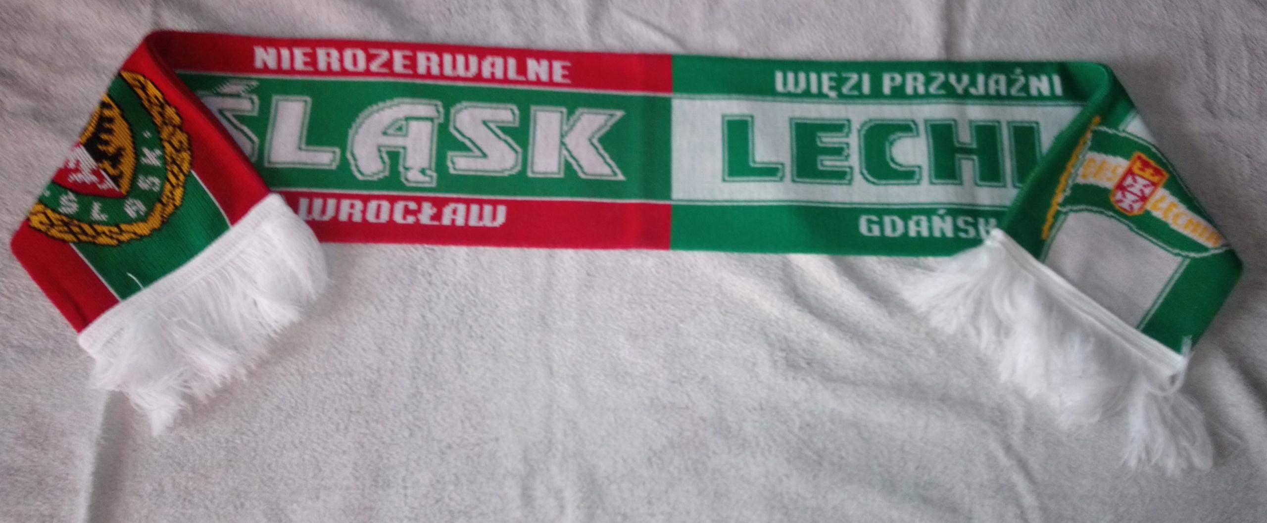 Купить шарфик WKS СИЛЕЗИЯ Вроцлав  P250 LECHIA   на Eurozakup - цены и фото - доставка из Польши и стран Европы в Украину.