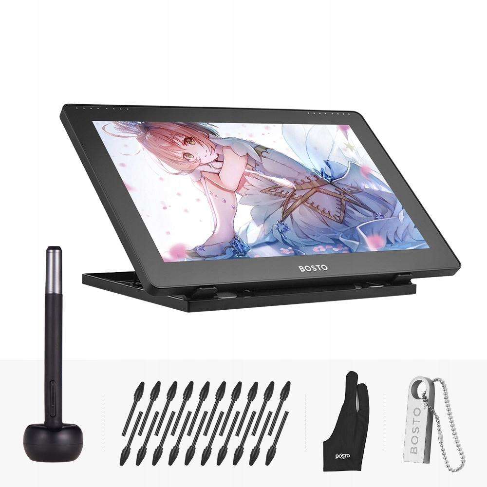 Bosto 16hd 15 6 X27 X27 Ips Tablet Do Rysowania Grafiki Sklep Komputerowy Allegro Pl