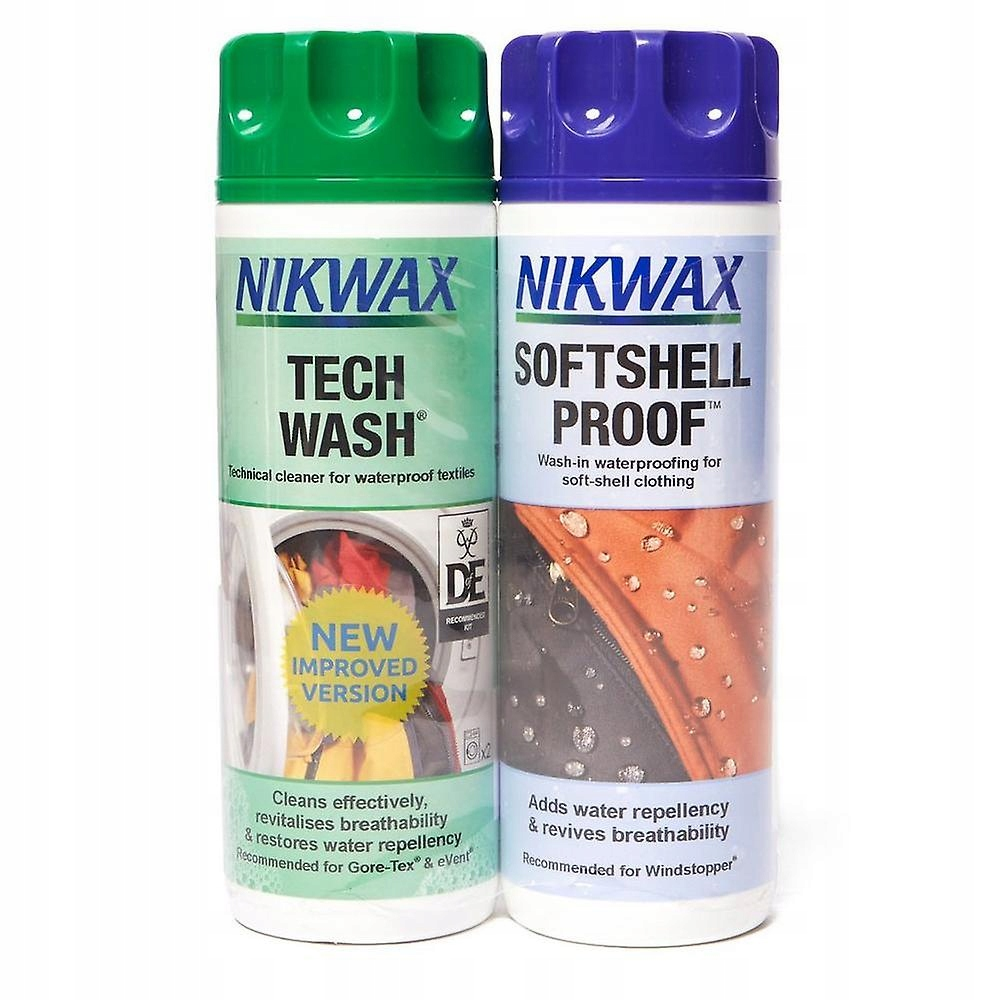 Nikwax Tech Wash 300 мл + Softshell Proof 300 мл