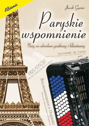 Paryskie wspomnienie  Nuty na akordeon guzikowy