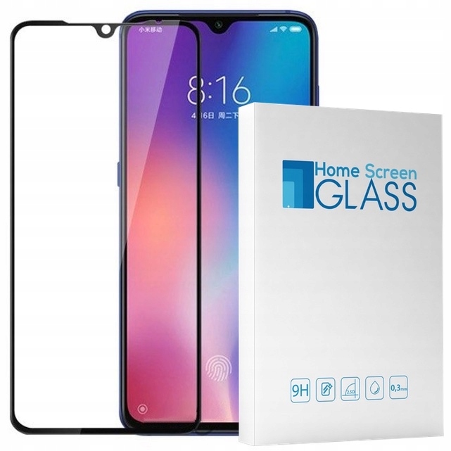 Hs Glass Szkło 3D Cały Ekran Do Xiaomi MI9 Full
