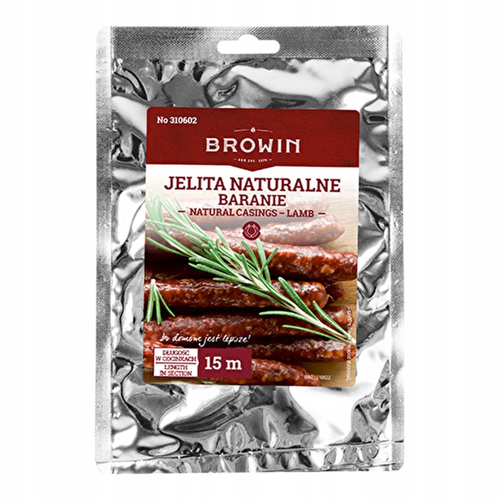 Jelita Naturalne Baranie 18 20mm Kielbasa 15m 6002722018 Allegro Pl