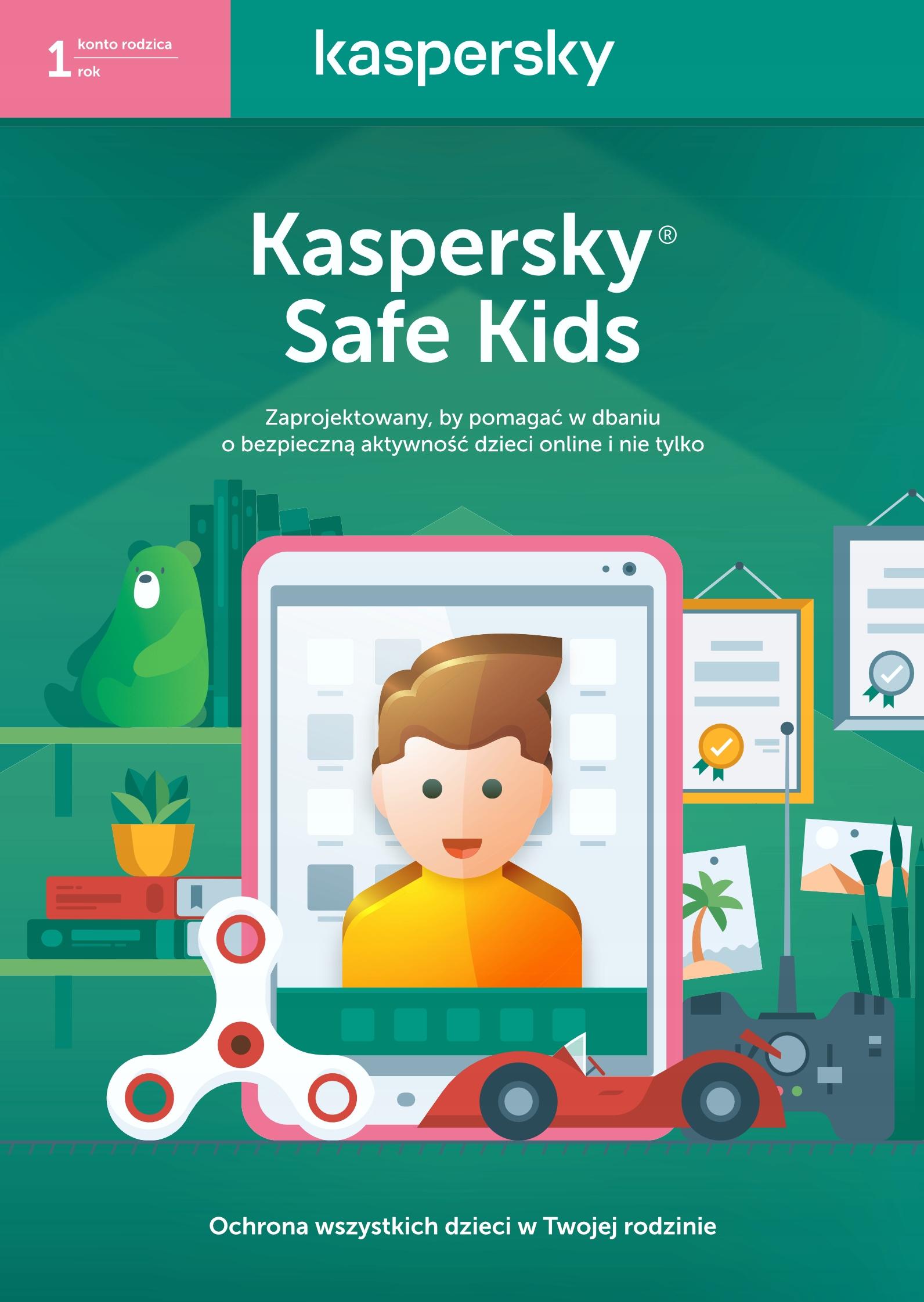 Kaspersky Safe Kids Premium 1rok Pl Ochrona Dzieci