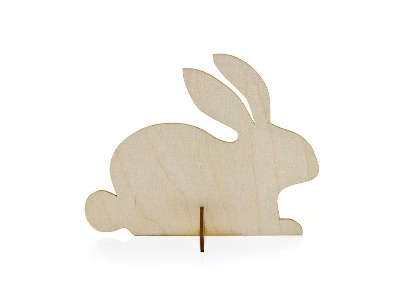 Купить Пасхальный кролик с длинными ушами 15см uszaty из фанеры на Otpravka - цены и фото - доставка из Польши и стран Европы в Украину.