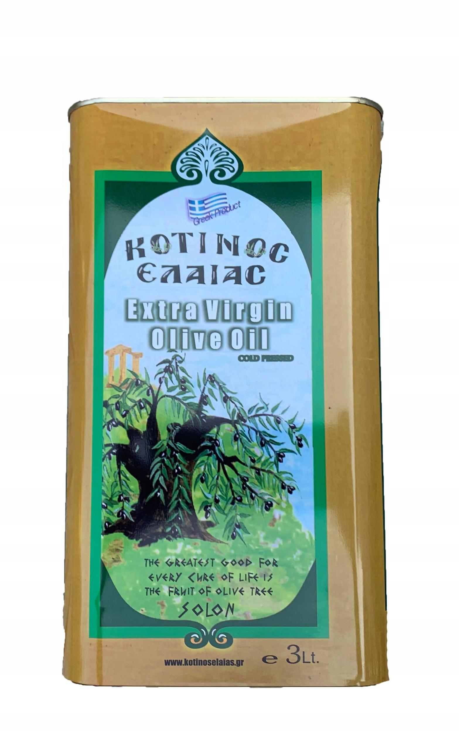Grécky olivový olej extra panenský 3 liter, domov človeka