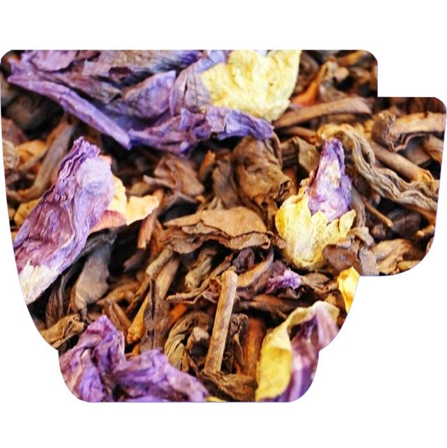 Herbata czerwona pu-erh - CHIŃSKA WIŚNIA - 100g