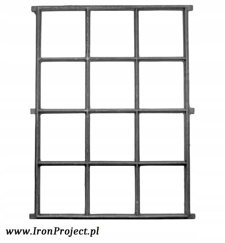NOVÉ okno liatiny retro 95,5x69cm