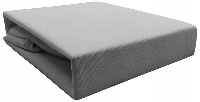 Простыня ДЖЕРСИ на резинке 160х200 см, Плотная