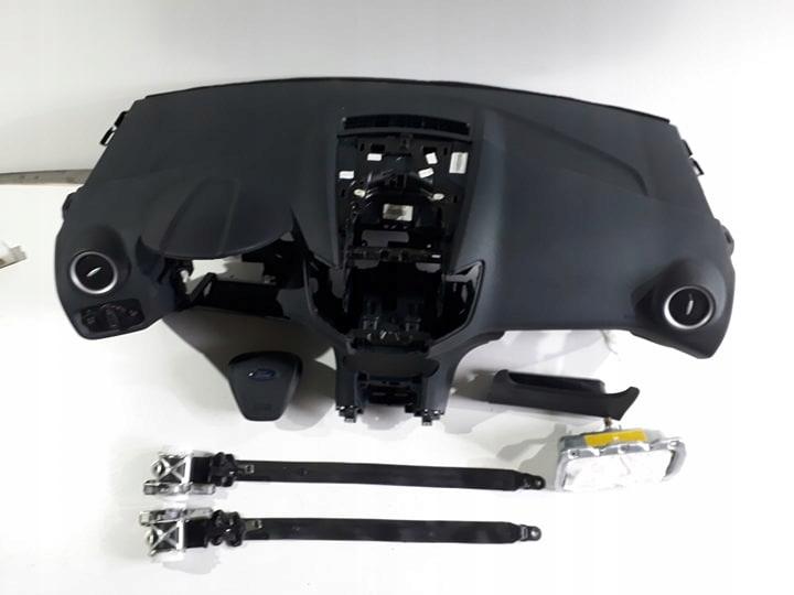 ford fiesta мк 7 доска консоль airbag подушка