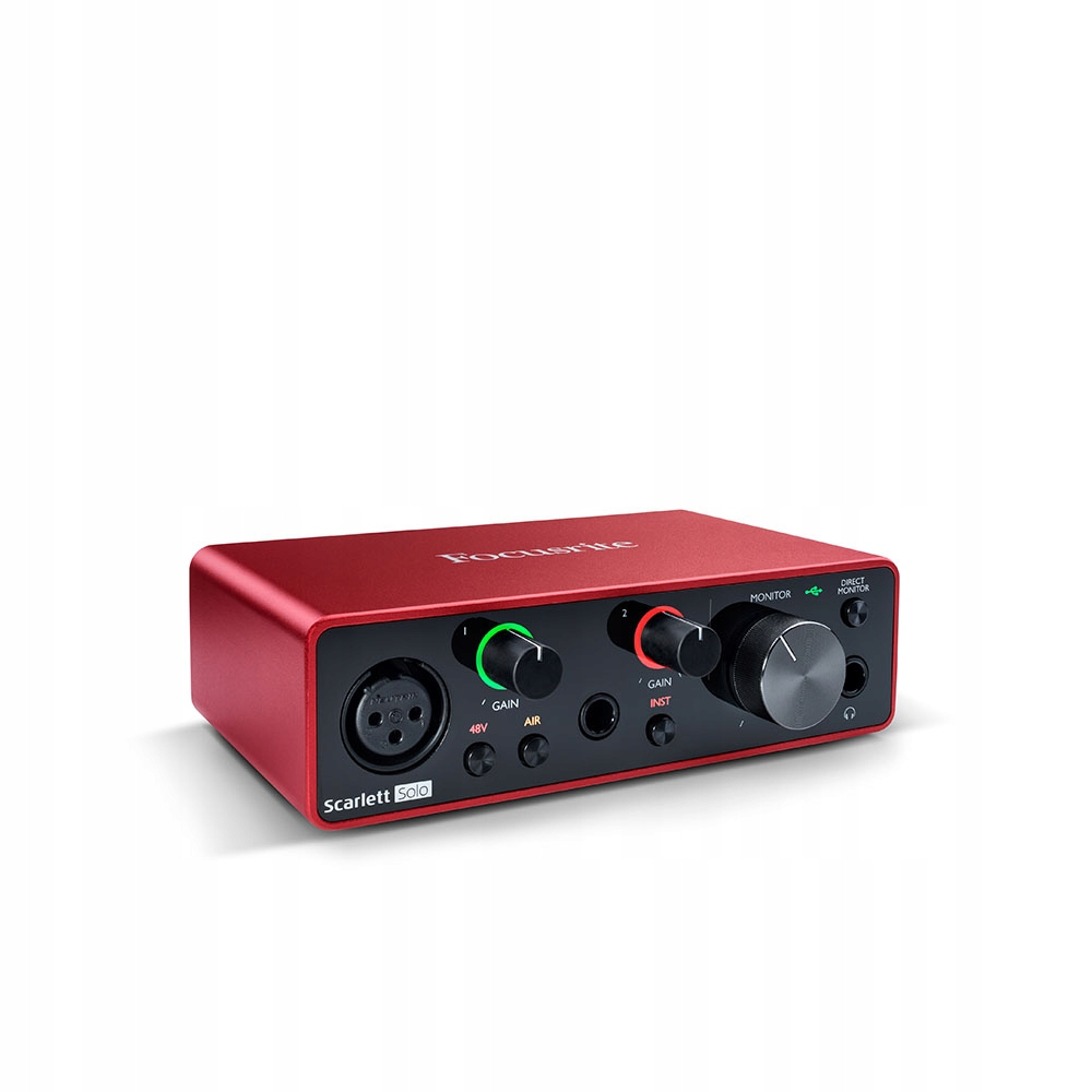 Item FOCUSRITE SCARLETT SOLO 3Gen Ableton ProTools, other