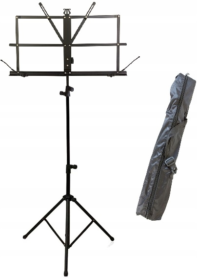 Item STAND MUSIC STAND MUSIC FOLDABLE ADJUSTABLE CASE
