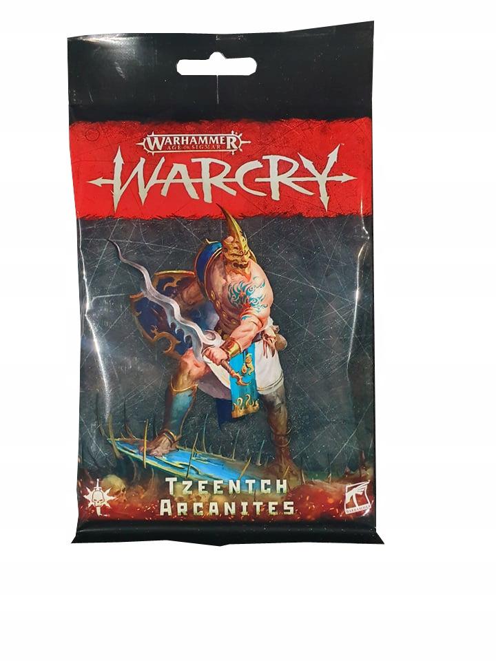 Warcry Tzeentch Arcaniti Card Pack Nový