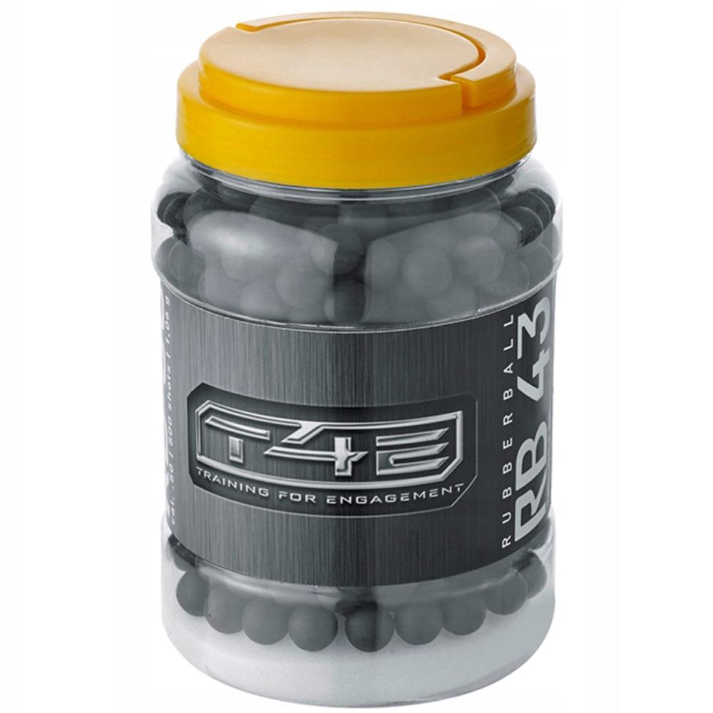 Gumové GULE Black PPQ M2 43 kal .43 palce - 500 Ks