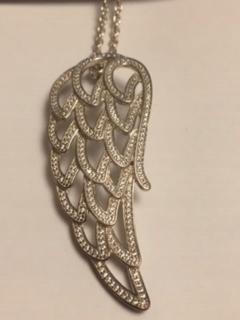 PANDORA náhrdelník anjel krídla 90 cm