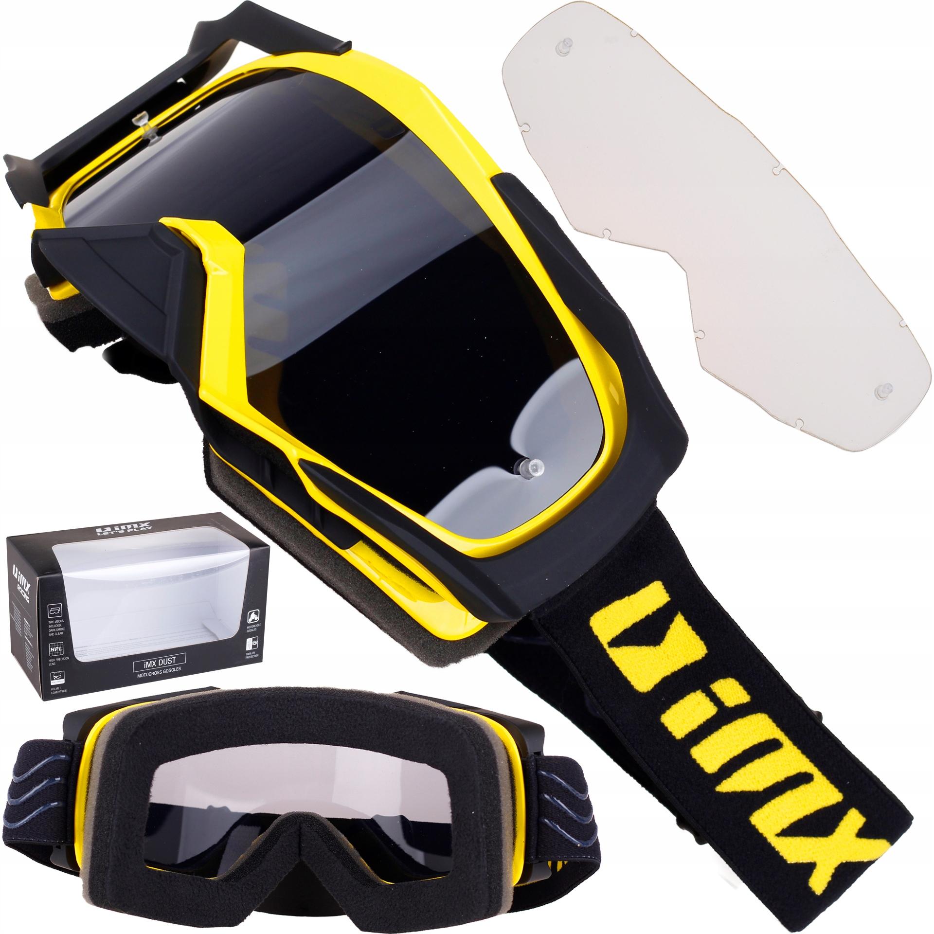 IMx конструкция пыли желтый черный Гоголь кросс эндуро 2 SZYBY