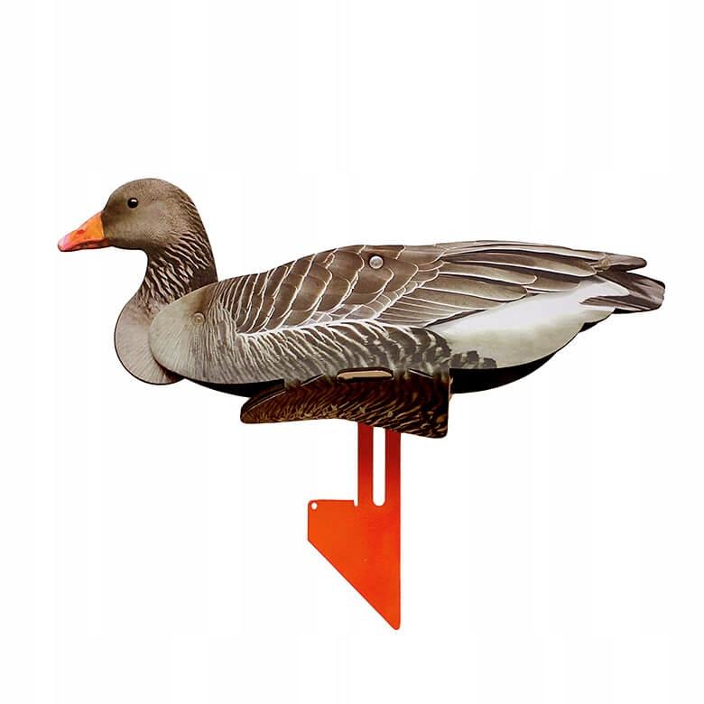 6pcs umelé kačice, HUSI grey goose ÚČINNÁ návnada ÚJD FUD