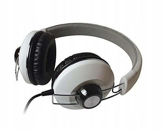 Slúchadlá Maxell Retro DJ II MXH-HP600 WH biela