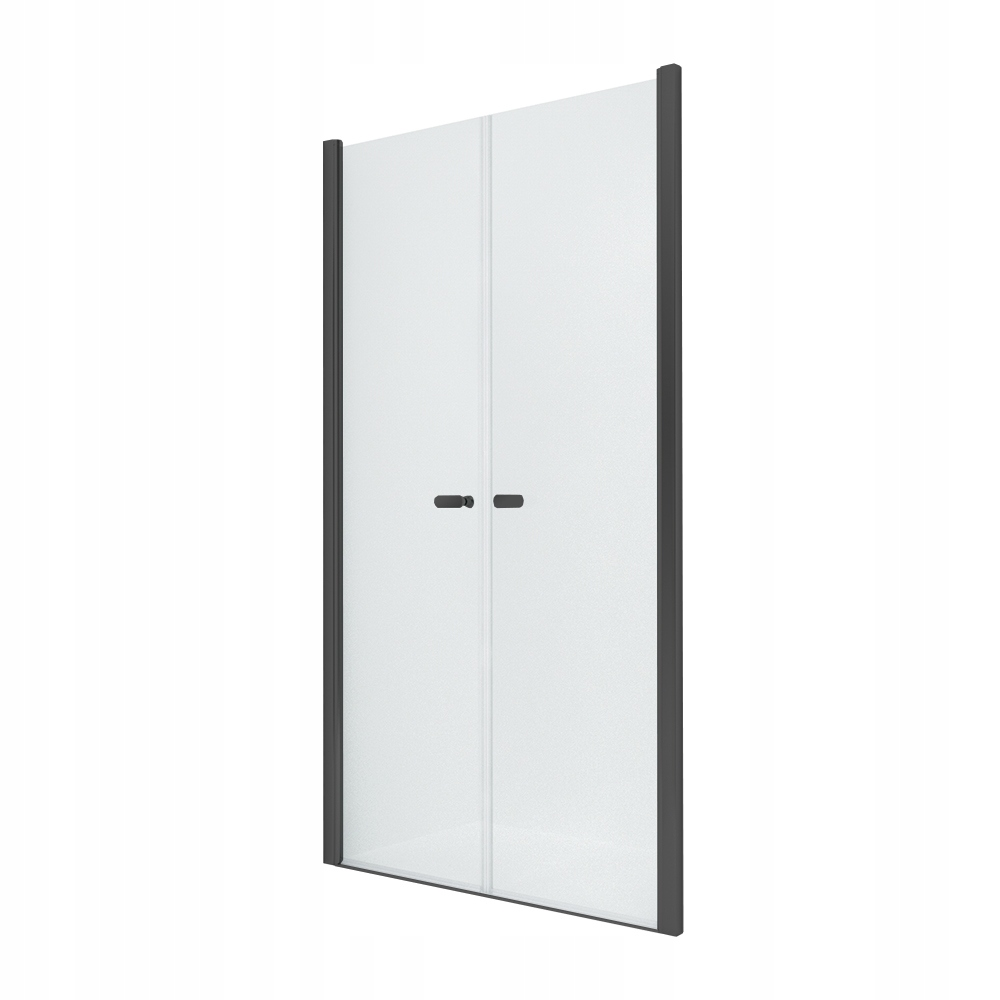NOVINKA sprchové dvere SOLEO BLACK 130x195 cm