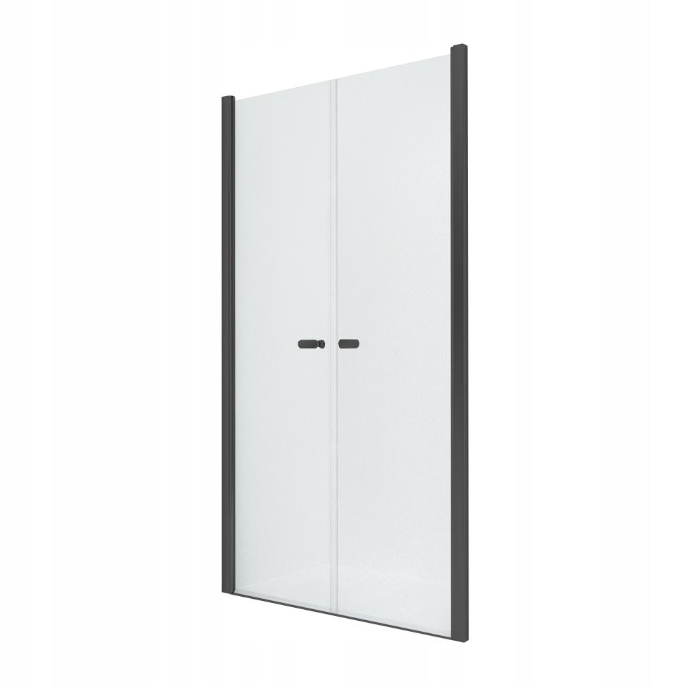 NOVINKA sprchové dvere SOLEO BLACK 80x195 cm
