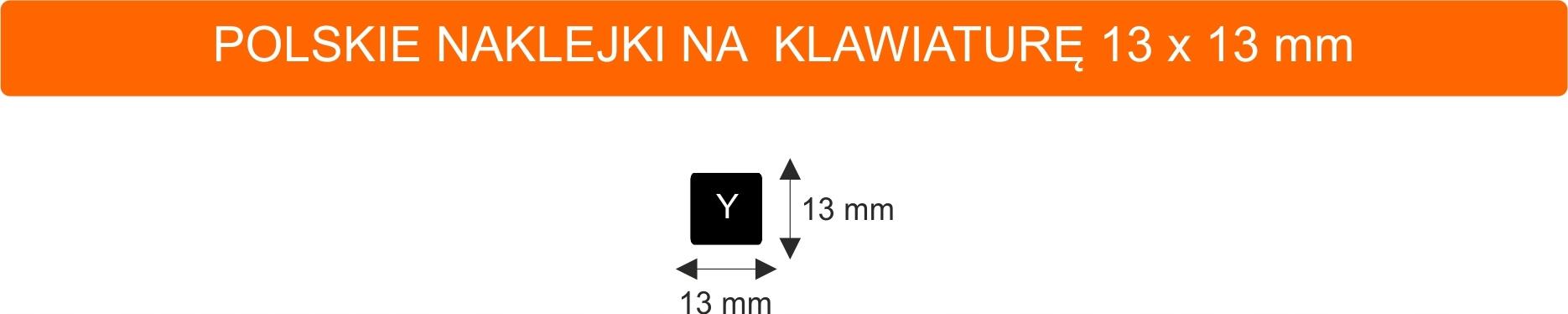 Купить Polskie naklejki na klawiaturę laptop 13x13 10SZT на Otpravka - цены и фото - доставка из Польши и стран Европы в Украину.